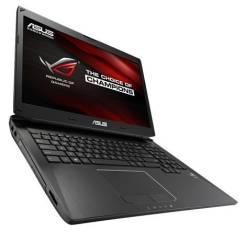 """Asus ROG G750JM. 17.3"""", ОЗУ 8192 МБ и больше, диск 1 256 Гб, WiFi, Bluetooth, аккумулятор на 3 ч."""