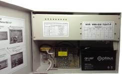 24 канальный IP видеорегистратор NVR Интегрированный PoE-6, 2HDD NVR BW-7024T-P