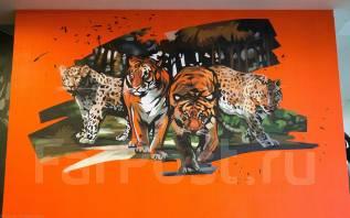 Художественная роспись и граффити оформление от команды WeDraw
