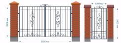Ворота от 9200 руб и Калитки от 3800 руб