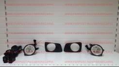 Комплект туманок Toyota Axio / Fielder 2006-12г с Ангельскими глазками. Toyota Corolla Fielder, NZE141G, ZRE144, ZRE144G, ZRE142, ZRE142G, NZE141, NZE...