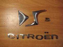 Эмблема багажника. Citroen DS5