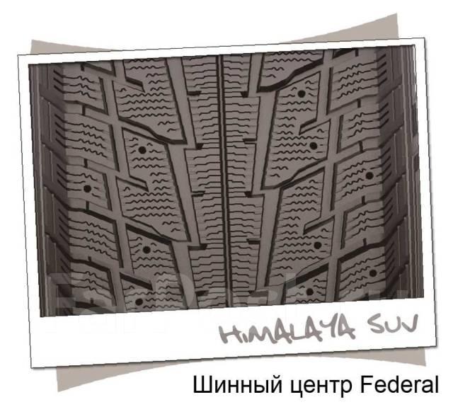 Federal Himalaya SUV. Зимние, без шипов, 2016 год, без износа, 4 шт