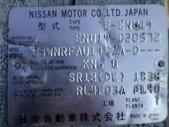 Nissan Bluebird. ENU14020572, SR18 DE
