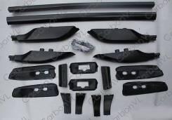 Рейлинг. Toyota Land Cruiser Prado, GRJ120W, GRJ121W, KDJ120W, KDJ121W, KDJ125W, RZJ120W, RZJ125W, TRJ120W, TRJ125W, VZJ120W, VZJ121W, VZJ125W Lexus G...