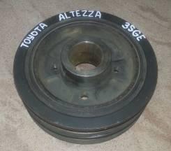 Шкив коленвала. Toyota Altezza, SXE10 Двигатель 3SGE