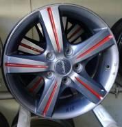 Red Wheel. 6.5x15, 5x114.30, ET38