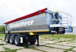 Kassbohrer. Облегченный самосвальный полуприцеп 22 м3, 32 000 кг.