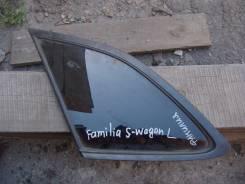 Стекло собачатника Mazda Familia S-Wagon, левое