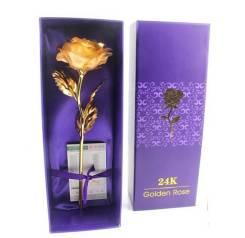 Оригинал ! Золотая роза 24 кр, отличный подарок к любому празднику !