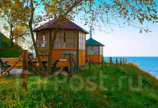 Гриль-домики на берегу! В любую погоду! Кунгасный парк.