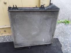 Радиатор охлаждения двигателя. Toyota Hiace, KZH100G Двигатель 1KZTE