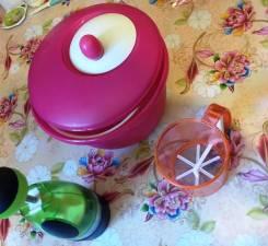 Полезные штучки для кухни - масленка, чоппер, и сушка для зелени