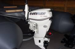 Evinrude. 30,00л.с., 2х тактный, бензин, нога S (381 мм), Год: 2015 год