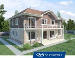 M-fresh Duplex Fine! (Отличный проект дома на две семьи! Посмотрите! ). 200-300 кв. м., 2 этажа, 6 комнат, бетон