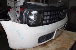 Бампер передний  Nissan Cube 11, (1 model) белый