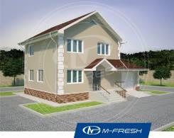 M-fresh Elegance (Пора жить на природе! ). 100-200 кв. м., 2 этажа, 4 комнаты, бетон
