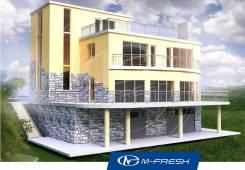 M-fresh Business-зеркальный. 400-500 кв. м., 3 этажа, 5 комнат, комбинированный