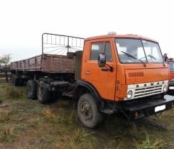 Камаз 5410. Продам (тягач) + П/Прицеп КЗАП 9370, 10 850 куб. см., 20 000 кг.