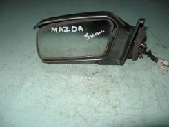 Зеркало заднего вида боковое. Mazda 323C