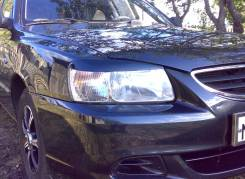 Накладка на фару. Hyundai Accent, LC2, LC