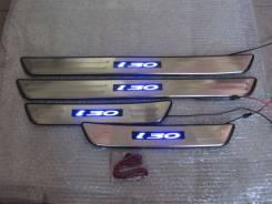 Накладка на порог. Hyundai i30, FD, GD Двигатели: G4FC, G4FG, G4FA, D4FB