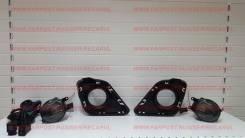 Накладка на фару. Toyota Ractis, NCP120, NCP122, NCP125, NSP120, NSP122