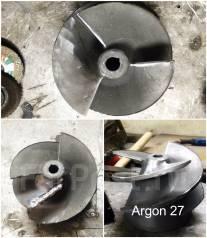 ремонт алюминиевого гребного винта