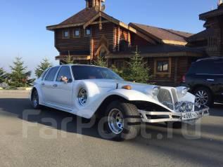 Эксклюзивный белоснежный Escalibur Phantom на свадьбу, торжество. С водителем