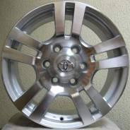 Toyota Land Cruiser Prado. 7.5x17, 6x139.70, ET30, ЦО 106,1мм.