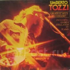 """Винил Umberto Tozzi """"Greatest hits in concert"""" 1980 Holland"""