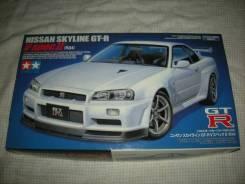 Модель Nissan Skyline R34 GT-R масштаб 1:24 для сборки (склеивания)