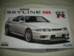 Модель Nissan Skyline R33 GT-R масштаб 1:24 для сборки (склеивания). Под заказ