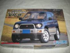 Модель Mitsubishi Pajero mini масштаб 1:24 для сборки (склеивания)