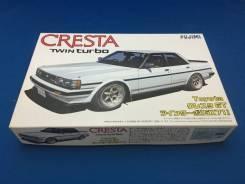 Модель Toyota Cresta GX71 масштаб 1:24 для сборки (склеивания). Под заказ