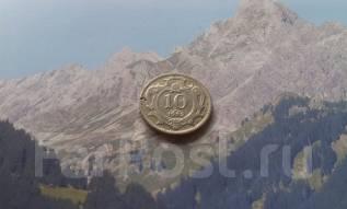 Австро-Венгрия. 10 геллеров 1909 года.