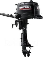 Suzuki. 6,00л.с., 4-тактный, бензиновый, нога L (508 мм), Год: 2017 год. Под заказ