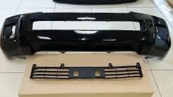 Бампер рестайл Toyota Land Cruiser 200 2012-2014