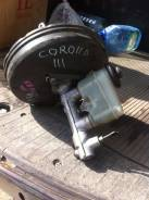 Цилиндр главный тормозной. Toyota Corolla, EE111 Двигатель 4EFE