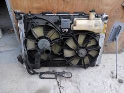 Радиатор охлаждения двигателя. Toyota Harrier, MCU30