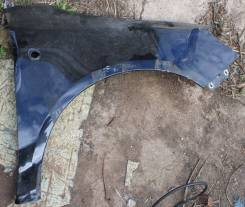 Крыло правое переднее Skoda Fabia 5J 5J0821022A  черное дефект