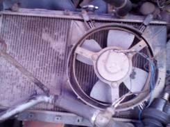 Радиатор охлаждения двигателя. Mitsubishi Galant, E33A Двигатель 4G63