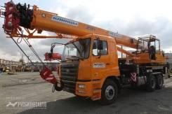 Клинцы КС-55713-12К-4В. Автокран КС-55713-12К-4В САМС - HN3250 6*4 31 м. 25 т. (+гусек), 8 900 куб. см., 25 000 кг., 31 м.