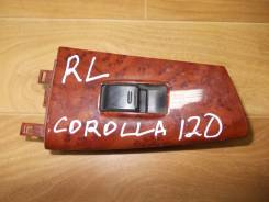Кнопка стеклоподъемника. Toyota Corolla, ZRE120