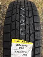 Dunlop Graspic DS3. Зимние, без шипов, 2015 год, без износа, 4 шт