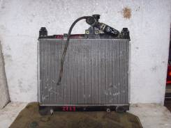 Радиатор охлаждения двигателя. Toyota Platz, NCP12
