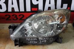Фара левая  Mazda Demio DY, (2 model)