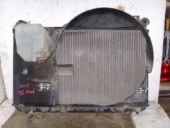 Радиатор охлаждения двигателя. Toyota Mark II, GX105