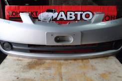 Бампер передний  Mazda Demio DY, (2 model)серебристый