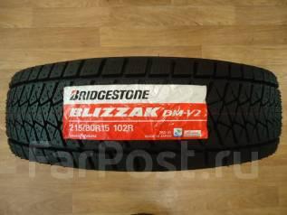 Bridgestone Blizzak DM-V2. Зимние, 2015 год, без износа, 4 шт